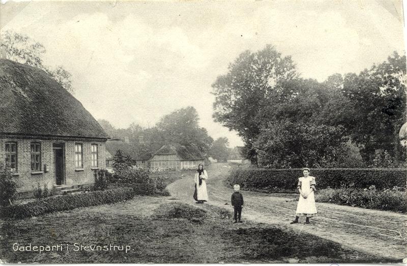Den gamle skole i Stevnstrup 1