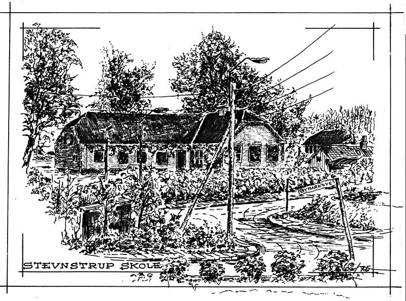 Skolen (1906) tegning