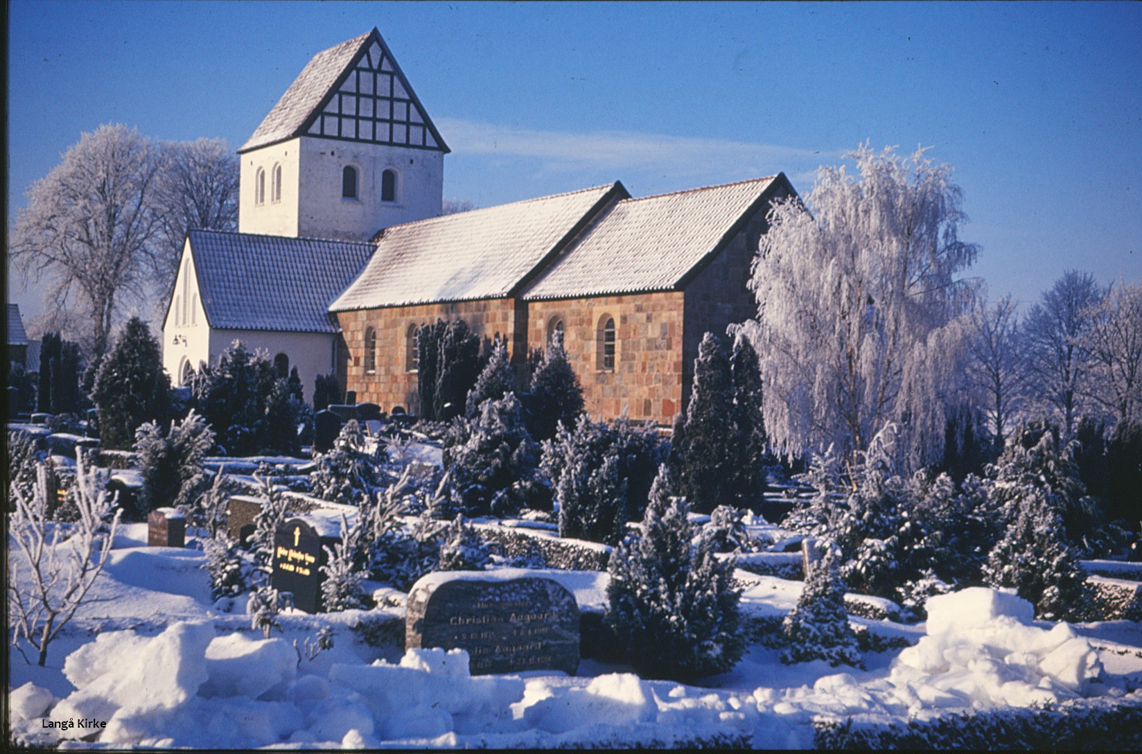 04. Langå Kirke ,vinter
